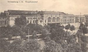 Terug in de tijd…Station Straatsburg, Frankrijk