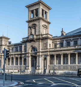 Terug in de tijd…Connolly Station in Dublin, Ierland