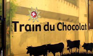 De chocoladetrein van Zwitserland