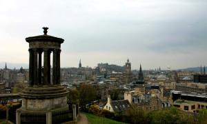 Bestemming bereikt: Edinburgh