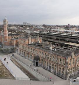 Terug in de tijd…Station Gent-Sint-Pieters