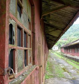 Verlaten treinstations…Paranapiacaba train station, Brazilië
