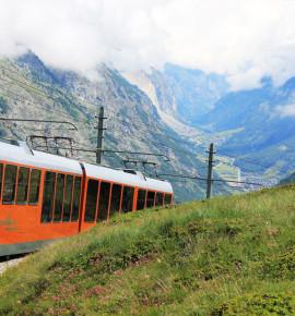 Eén van de mooiste uitzichten van Zwitserland, de Gornergrat!