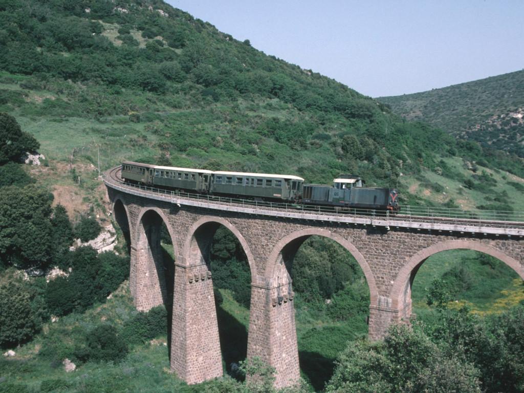 Het groene treintje