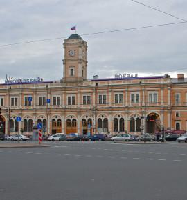 Terug in de tijd…Moskovski vokzal in St. Petersburg, Rusland