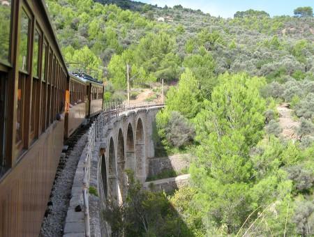 Eilanden per trein: Mallorca, Spanje