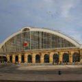 Terug in de tijd: Liverpool Lime Street Railway Station, Engeland