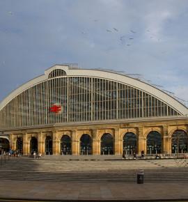 Terug in de tijd: Liverpool Lime Street Railway Station, Engeland