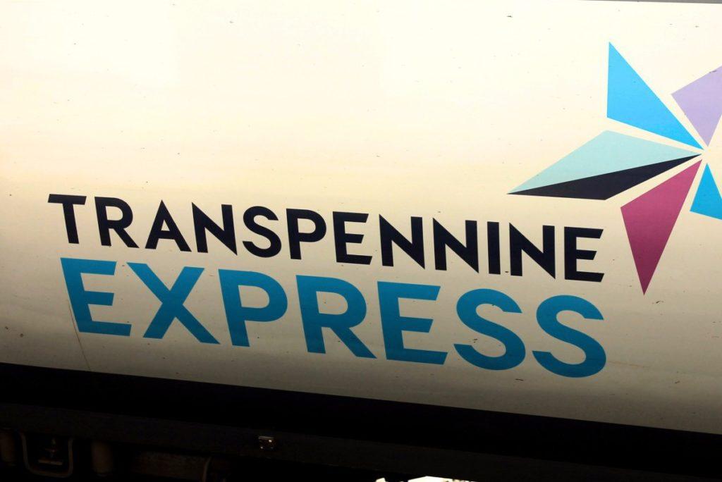 met de trein door Noord-Engeland