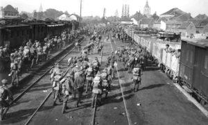 Treinverkeer tijdens de Eerste Wereldoorlog