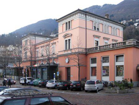 Terug in de tijd… Station Locarno in Zwitserland