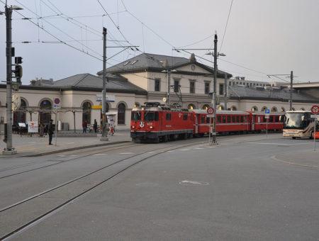 Terug in de tijd… Station Chur in Zwitserland