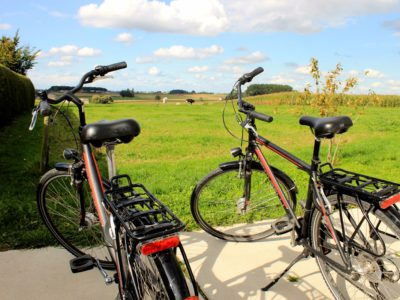Fietsend door Flanders Fields