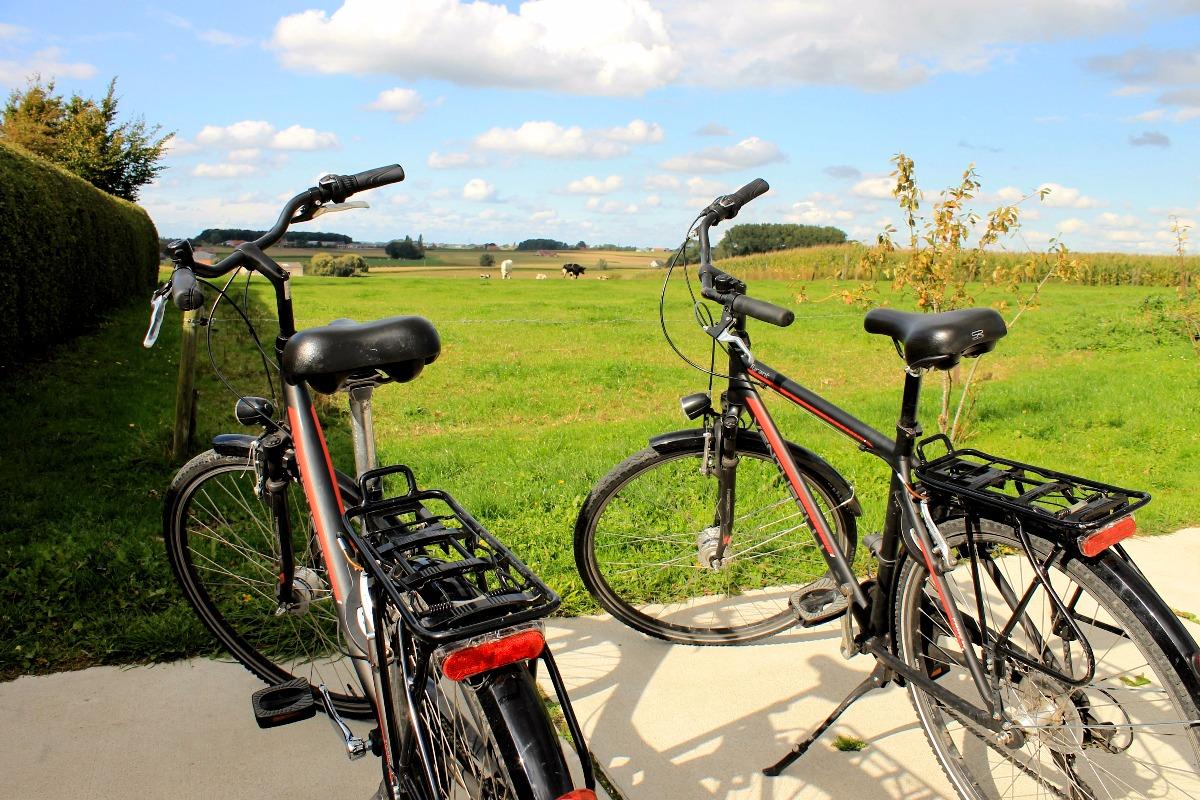 fietsen door de westhoek