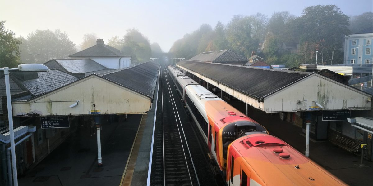zuid-engeland met de trein