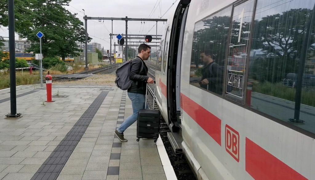 treinreis door Europa