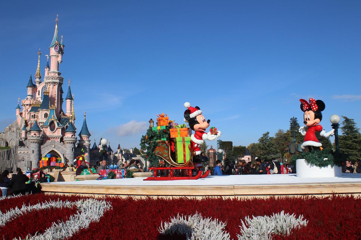 Disneyland met de trein