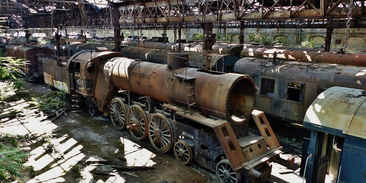 Red Star Train Graveyard