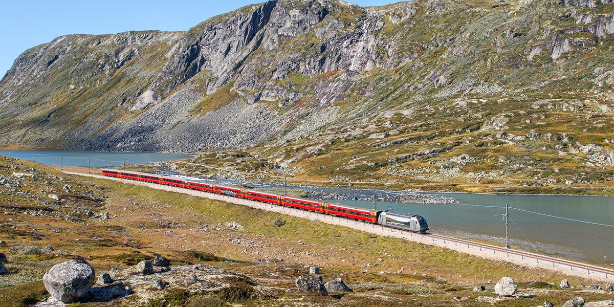 treinreizen door scandinavië