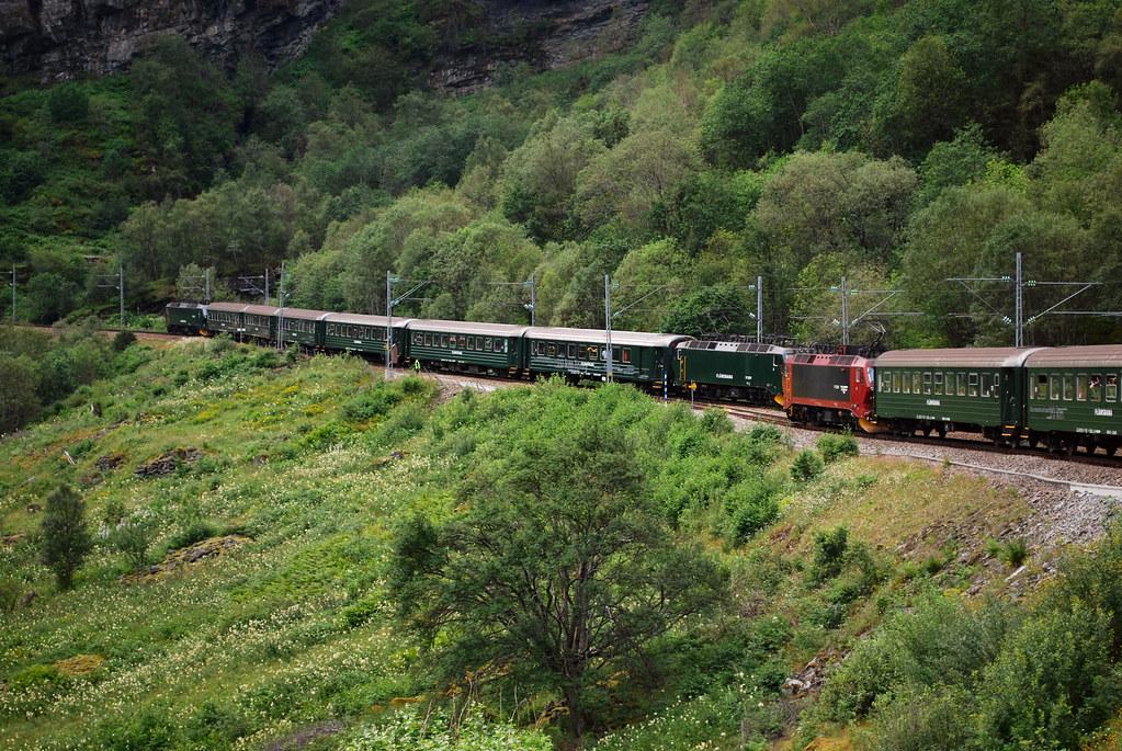 treinreizen scandinavië