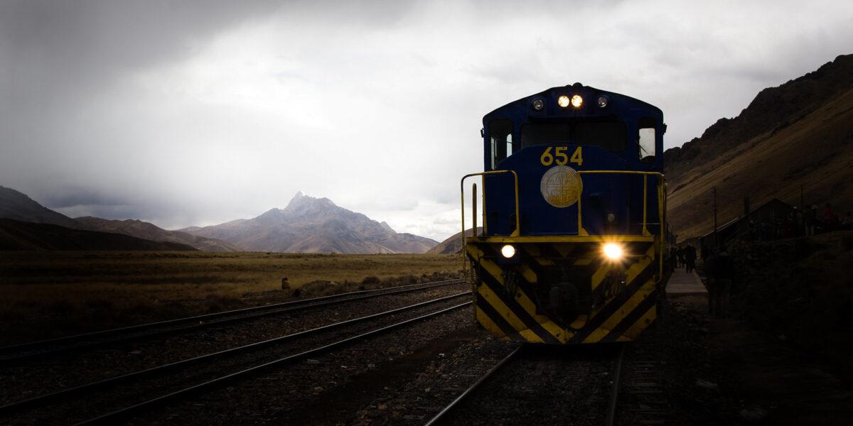 treinreizen door Zuid-Amerika