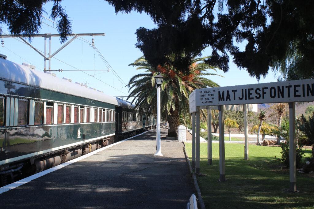 treinreizen in Zuid-Afrika