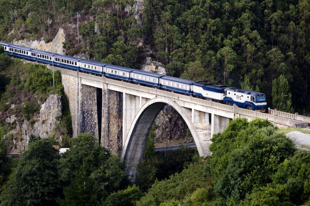 treinreizen door Spanje en Portugal