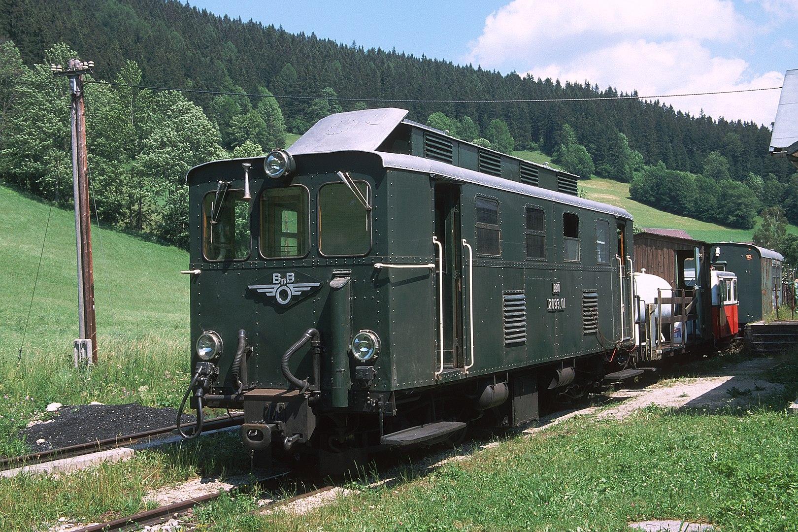nostalgie spoorlijnen in Oostenrijk