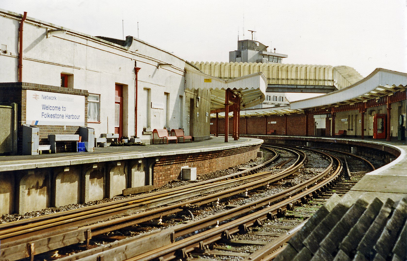 Folkestone Harbour Railway Station