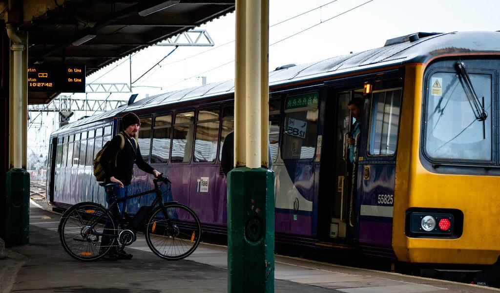 Fiets en trein