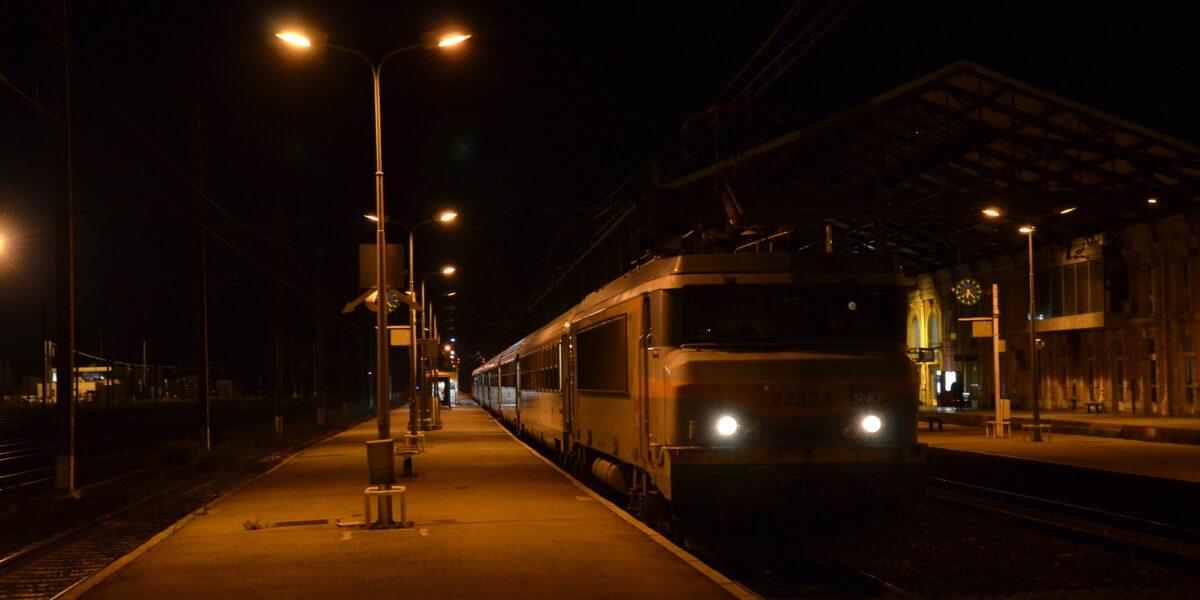 Nachttrein Frankrijk