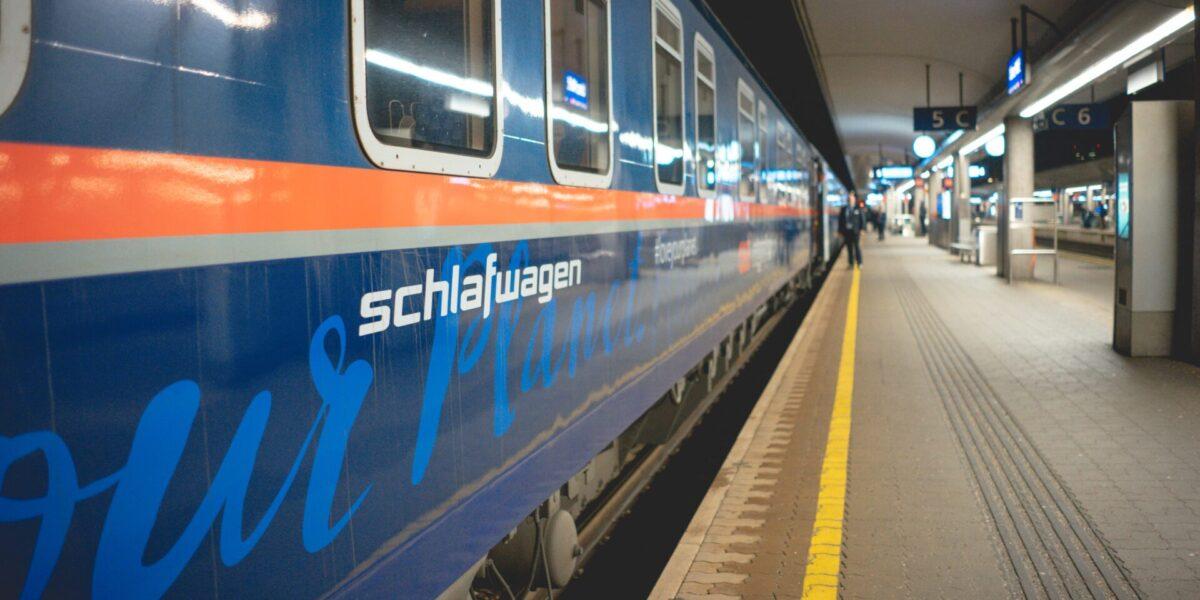 de Nightjet naar Oostenrijk
