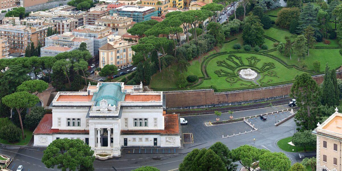De spoorwegen van Vaticaanstad