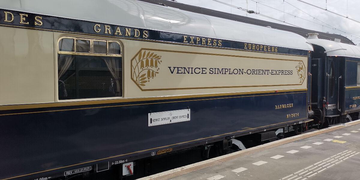 Een kijkje aan boord van de Venice-Simplon Oriënt Express